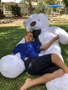 דובי-ענק-טימי-לבן-מטר-וחצי