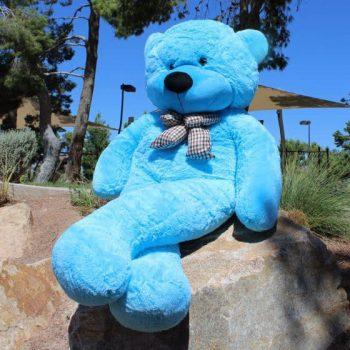 דובי ענק מטר וחצי כחול