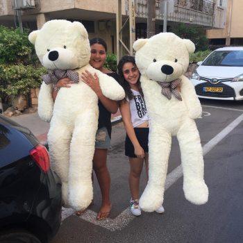דובי ענק מטר וחצי שמנת