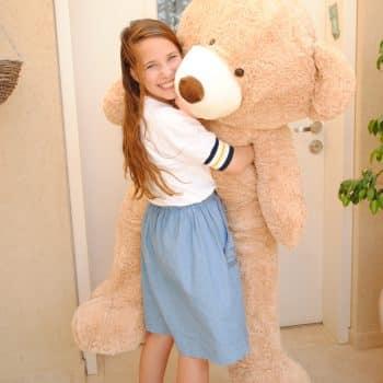 דובי ענק מטר וחצי (1.60 מטר)